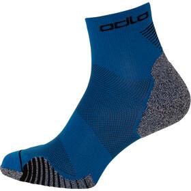 Odlo Ceramicool Run Socks Quarter, mykonos blue